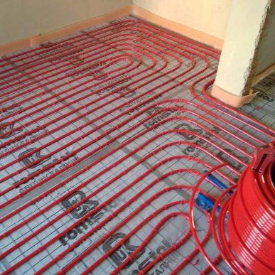 Монтаж теплої підлоги 10