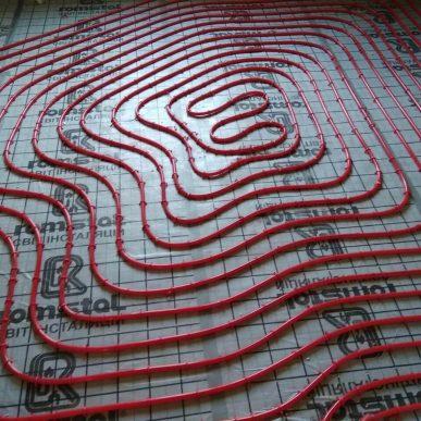 Монтаж теплої підлоги 11