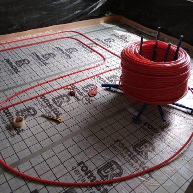 Монтаж теплої підлоги 12