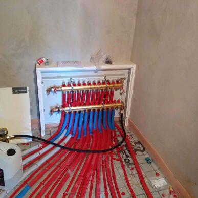 Монтаж теплої підлоги 3