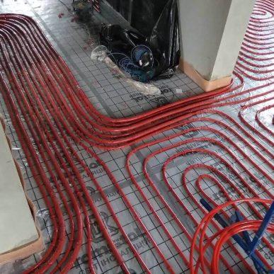 Монтаж теплої підлоги 7