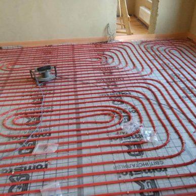 Монтаж теплої підлоги 8
