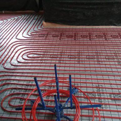 Монтаж теплої підлоги 9