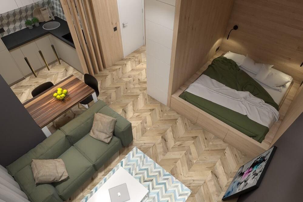 Ремонт 1-комнатной квартиры Киев