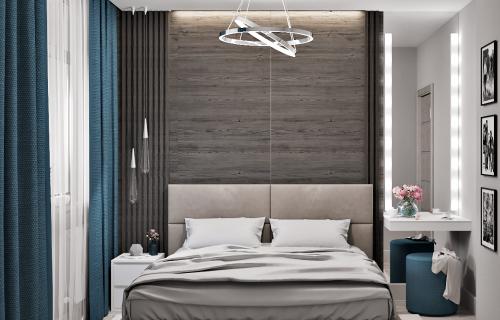 Интерьер спальни в Киеве